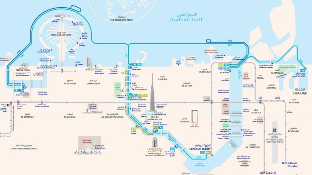 Dubai Ferry Maps Dubai Ferry